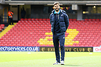 Fernando Llorente of Swansea City looks around Vicarage Road Stadium prior to kick off of the Premier League match between Watford and Swansea City at Vicarage Road Stadium, Watford, England, UK. Saturday 15 April 2017