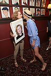 Kate Burton and Cobie Smulders attends the Sardi's Caricature Unveiling for Kate Burton joining the Legendary Wall of Fame at Sardi's on June 28, 2017 in New York City.