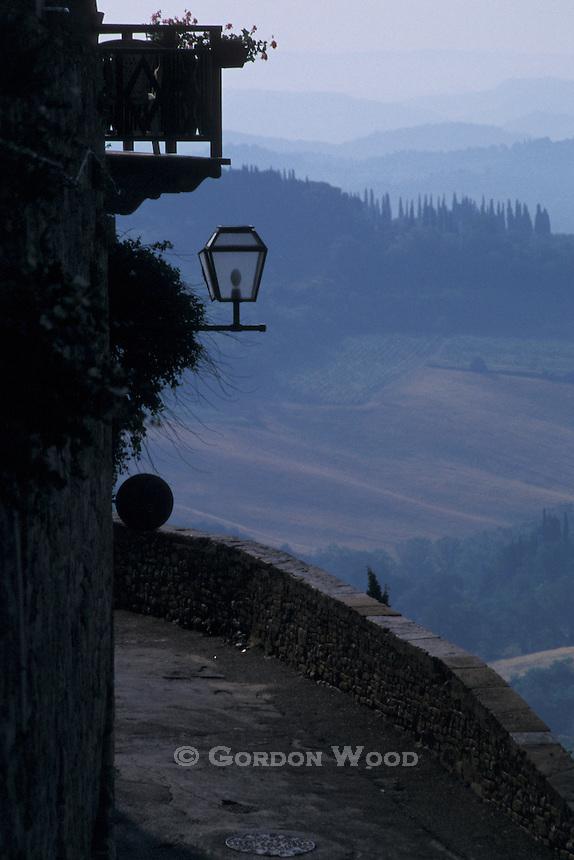 San Gimignano, Italy, Early Morning View