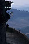 San Gimignano, Italy, Early Morning View