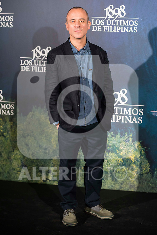 "Javier Gutierrez attends to the presentation of the spanish film "" 1898. Los ultimos de Filipinas"" at Naval Museum in Madrid, Spain. November 28, 2016. (ALTERPHOTOS/BorjaB.Hojas)"