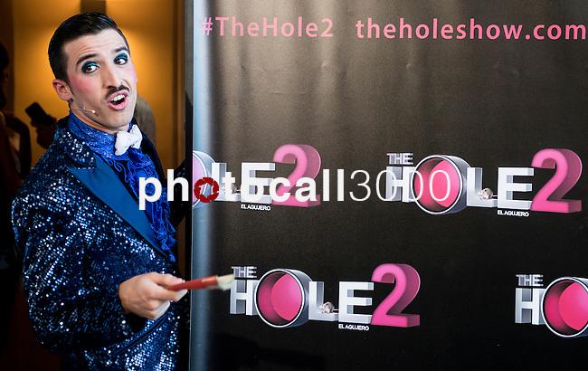 Teatro La Latina. Madrid. Spain. 13/05/2014.<br /> Press pass The Hole 2.