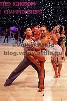 0801241185c UK Open dance competition. International Centre,  Bournemouth, United Kingdom. Thursday, 24. January 2008. ATTILA VOLGYI