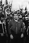 National Front NF members  Remembrance Day march and rally 1977.