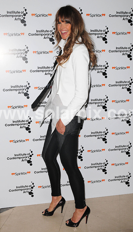 **ALL ROUND PICTURES FROM SOLARPIX.COM**.**WORLDWIDE SYNDICATION RIGHTS**.Celebrities arrive at  The ICA-Figures of speech Gala' at theRoyal Horticultural Halls, Vincent Square London..This picElle Macpherson ..JOB REF: 5850      SSD     DATE:27.02.08.**MUST CREDIT SOLARPIX.COM OR DOUBLE FEE WILL BE CHARGED* *UNDER NO CIRCUMSTANCES IS THIS IMAGE TO BE REPRODUCED FOR ANY ONLINE EDITION WITHOUT PRIOR PERMISSION*