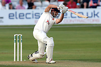 Nick Browne hits four runs for Essex during Essex CCC vs Middlesex CCC, Specsavers County Championship Division 1 Cricket at The Cloudfm County Ground on 26th June 2017