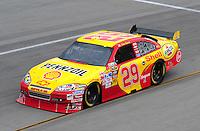 May 1, 2009; Richmond, VA, USA; NASCAR Sprint Cup Series driver Kevin Harvick during practice for the Russ Friedman 400 at the Richmond International Raceway. Mandatory Credit: Mark J. Rebilas-