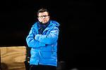 Stockholm 2014-03-05 Bandy SM-semifinal 3 Hammarby IF - V&auml;ster&aring;s SK :  <br /> TV4 expert Kenth Hultqvist <br /> (Foto: Kenta J&ouml;nsson) Nyckelord:  VSK Bajen HIF portr&auml;tt portrait