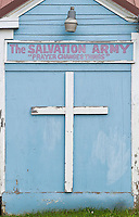 Salvation Army Church, Hoonah, Alaska, USA