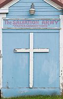 Salvation Army Church, Hoonah, Alaska, USA