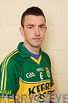 Dominic OSullivan member of the Kerry U-21 panel 2012
