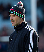 Harlequins' Head Coach Paul Gustard<br /> <br /> Photographer Bob Bradford/CameraSport<br /> <br /> Gallagher Premiership - Harlequins v Gloucester Rugby - Sunday 10th March 2019 - Twickenham Stoop - London<br /> <br /> World Copyright &copy; 2019 CameraSport. All rights reserved. 43 Linden Ave. Countesthorpe. Leicester. England. LE8 5PG - Tel: +44 (0) 116 277 4147 - admin@camerasport.com - www.camerasport.com