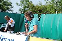 KAATSEN: DONGJUM: 25-05-2014, Gert Anne van der Bos, Jacob Wassenaar (vervanger voor Taeke Triemstra) en Daniël Iseger winnaar de heren hoofdklasse vrije formatie in Dongjum, ©foto Martin de Jong