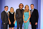 From left: The Chronicle's Jeff Cohen and Melissa Aguilar with Pucci designer Peter Dundas, chair Jana Arnoldy and Bob Devlin from Neiman Marcus at the annual Houston Chronicle's Best Dressed Luncheon at the Westin Galleria Hotel Tuesday April 3, 2013.(Dave Rossman photo)