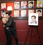 Orfeh and Andy Karl during the Andy Karl Sardi's Portrait unveiling at Sardi's on May 31, 2017 in New York City.
