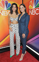 NEW YORK, NY - MAY 09:Stephanie Beatriz and Melissa Fumero attends the 2019/2020 NBC Upfront presentation at the    Fourr Seasons Hotel on May 13, 2019in New York City.  <br /> CAP/MPI/JP<br /> ©JP/MPI/Capital Pictures