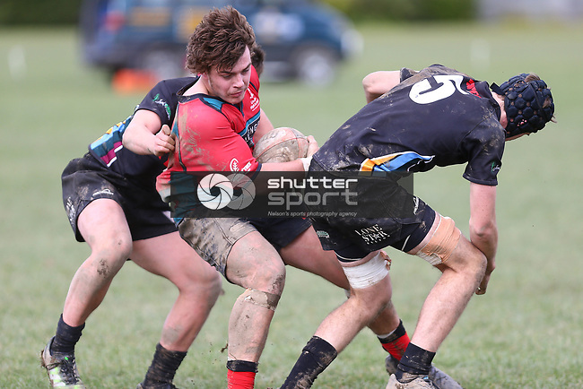 NELSON, NEW ZEALAND - JUNE 24: UC Cup: Waimea Combined v Lincoln Combined on June 24 2017 Waimea College in Nelson, New Zealand. (Photo by: Evan Barnes Shuttersport Limited)