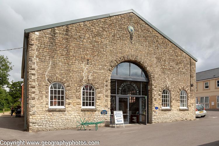 Pewsey Heritage Centre museum building, Pewsey, Wiltshire, England, UK