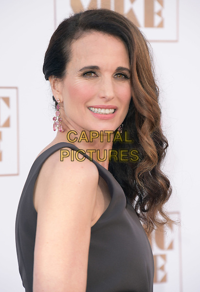 Andie MacDowell attends The Warner Bros. Pictures' L.A. Premiere of Magic Mike XXL held at The TCL Chinese Theatre  in Hollywood, California on June 25,2015  <br /> CAP/DVS<br /> &copy;DVS/Capital Pictures