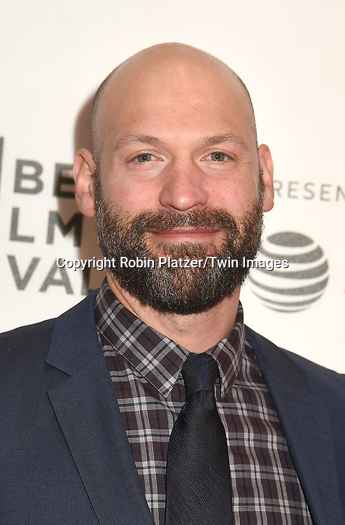 """actor Corey Stoll  attends """"The Seagull"""" Screening at the Tribecca Film Festival at BMCC on April 21, 2018 in New York City, New York, USA.<br /> <br /> photo by Robin Platzer/Twin Images<br />  <br /> phone number 212-935-0770"""