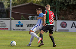 2018-07-29 / Voetbal / seizoen 2018 -2019 / GR Katelijne - KFC Duffel/ Yannick Rymenants (l.KFC Duffel) met Stef Coremans  ,Foto: Mpics.be