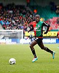 Nederland, Nijmegen, 2 december 2012.Eredivisie .Seizoen 2012-2013.N.E.C.-NAC Breda.Leroy George van N.E.C. in actie met bal.