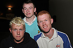 Jason Dunne, Anthony Dunne and Karl Vogelaar at the Snooker Exhibition with Fergal O'Brien in aid of SOSAD in The Star and Crescent Snooker Club...Photo NEWSFILE/Jenny Matthews.(Photo credit should read Jenny Matthews/NEWSFILE)....This Picture has been sent you under the condtions enclosed by:.Newsfile Ltd..The Studio,.Millmount Abbey,.Drogheda,.Co Meath..Ireland..Tel: +353(0)41-9871240.Fax: +353(0)41-9871260.GSM: +353(0)86-2500958.email: pictures@newsfile.ie.www.newsfile.ie.FTP: 193.120.102.198.