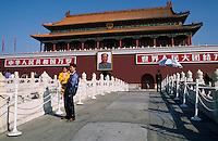 China, Peking, vor dem Tian An Men (Tor des himmlischen Friedens)