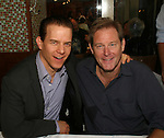 Broadaway's Christian Hoff and OLTL Brian Kerwin at 22nd Annual Broadway Flea Market & Grand Auction to benefit Broadway Cares/Equity Fights Aids on Sunday, September 21, 2008 in Shubert Alley, New York City, New York. (Photo by Sue Coflin/Max Photos)
