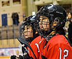 06.01.2020, BLZ Arena, Füssen / Fuessen, GER, IIHF Ice Hockey U18 Women's World Championship DIV I Group A, <br /> Japan (JPN) vs Daenemark (DEN), <br /> im Bild Kaho Suzuki (JPN, #13), Yumeka Wajima (JPN, #12)<br />  <br /> Foto © nordphoto / Hafner