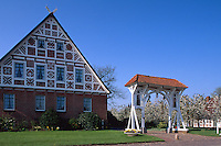 Deutschland, Obstbauernhof im Alten Land bei Hamburg