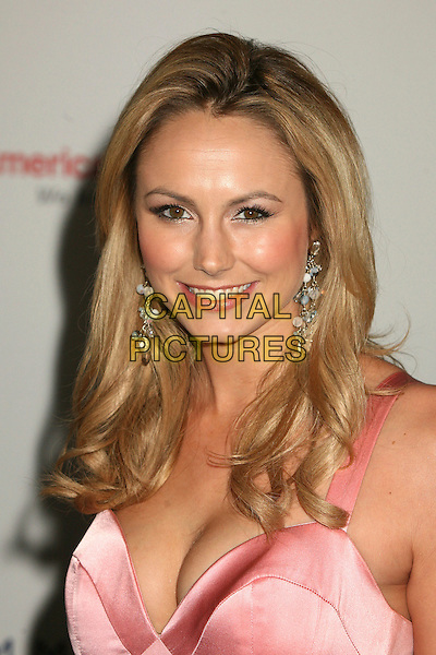 "STACY KEIBLER.14th Annual Race to Erase MS Themed ""Dance to Erase MS"" at the Century Plaza Hotel, Century City, California, USA, 13 April 2007..portrait headshot stacey kiebler pink dress cleavage.CAP/ADM/BP.©Byron Purvis/AdMedia/Capital Pictures."