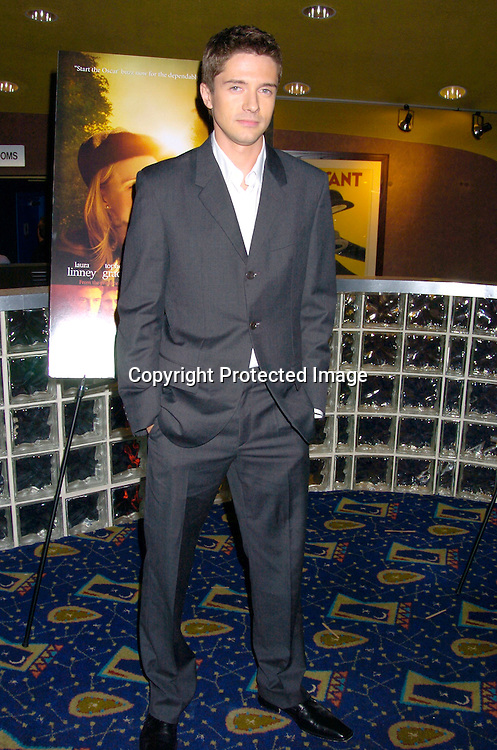 "Topher Grace..at the New York Premiere of ""ps"" on October 12, 2004 ..at the Clearview Chelsea West. ..Photo by Robin Platzer, Twin Images"