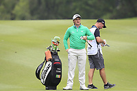 Paul Dunne (IRL) on the 18th fairway during Round 3 of the UBS Hong Kong Open, at Hong Kong golf club, Fanling, Hong Kong. 25/11/2017<br /> Picture: Golffile | Thos Caffrey<br /> <br /> <br /> All photo usage must carry mandatory copyright credit     (&copy; Golffile | Thos Caffrey)