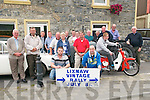 Lixnaw Vintage Rally : Pictured at the launch of Lixnaw Vintage Rally at the Railway Bar, Lixnaw on Friday evening last.