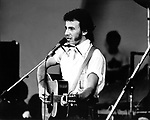 Bruce Springsteen 1981 at Survival Sunday at the Hollywood Bowl.© Chris Walter.