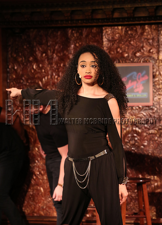 Nicole Vanessa Ortiz during the Press Preview Presentation for the new production of 'Smokey Joe's Cafe' at Feinstein's/54 Below on June 27, 2018 in New York City.