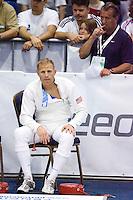 01 JUN 2008 - BUDAPEST, HUN - Eli Bremer (USA) - Modern Pentathlon World Championships. (PHOTO (C) NIGEL FARROW)