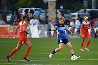 Kansas City, MO - Saturday May 07, 2016: FC Kansas City midfielder Jen Buczkowski (6) against Houston Dash midfielder Morgan Brian (6) during a regular season National Women's Soccer League (NWSL) match at Swope Soccer Village. Houston won 2-1.