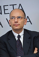 06/05/2013 Milano: Enrico Letta arriva a Milano per la nomina di Giuseppe Sala a commissario unico di Expo 2015.