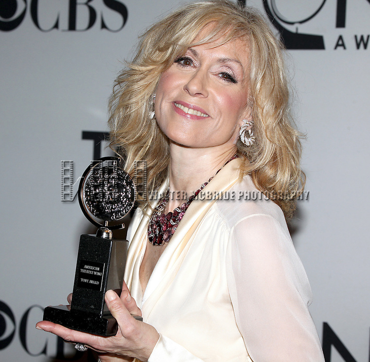 Judith Light pictured at the 66th Annual Tony Awards held at The Beacon Theatre in New York City , New York on June 10, 2012. © Walter McBride / WM Photography