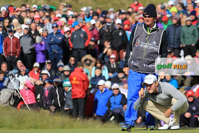 Maximilian KIEFFER (GER)  during round 4 of the Dubai Duty Free Irish Open, Royal County Down Golf Club, Newcastle Co Down, Northern Ireland. 31/05/2015 <br /> Picture Fran Caffrey, www.golffile.ie