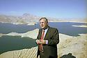 Irak 2000. Jalal  Talabani, secrétaire général de l'UPK, à Dokan.   Iraq 2000.  Jalal Talabani , general secretary of PUK, in Dokan