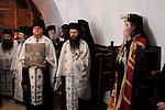 Jordan Valley, Greek Orthodox Patriarch Theophilus III of Jerusalem on Theophany at Qasr al Yahud