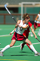 27 August 2005: Jamie Hais during Stanford's 2-1 overtime loss to Miami (Ohio) at the Varsity Turf Field in Stanford, CA.