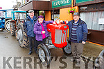 Danny and Margaret McCarthy with Joe Teahan  at the Kilgarvan vintage on Sunday