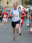 Andrew Purcellrunning in the Clogherhead 10k run. Photo: Colin Bell/pressphotos.ie