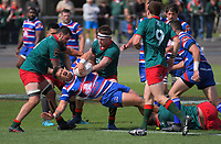 Action from the 2018 Heartland Championship Lochore Cup rugby final between Horowhenua Kapiti and Wairarapa Bush at Levin Domain in Levin, New Zealand on Sunday, 28 October 2018. Photo: Dave Lintott / lintottphoto.co.nz