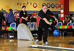 Peter Kavanagh from the Ennis Eagles Bowling Club competing in the Special Olympics Munster qualifiers at Leisure World in Ennis. Photograph by Declan Monaghan