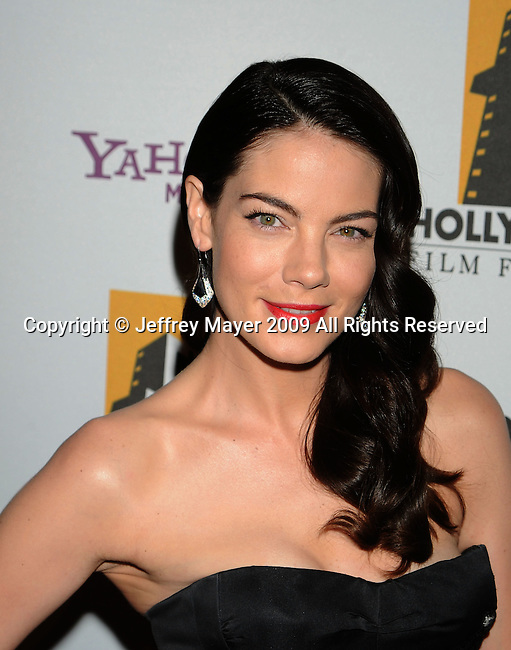 BEVERLY HILLS, CA. - October 26: Michelle Monaghan arrives at the 13th annual Hollywood Awards Gala Ceremony held at The Beverly Hilton Hotel on October 26, 2009 in Beverly Hills, California.